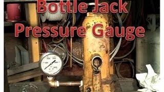 getlinkyoutube.com-Adding pressure gauge to a bottle jack.