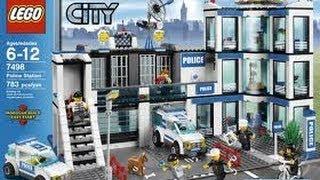 getlinkyoutube.com-LEGO City Police Station Set 7498 Review