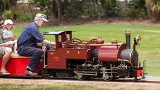 "getlinkyoutube.com-1/3 scale Darjeeling Himalayan Railway B-Class Steam Locomotive in 7.25"" gauge"
