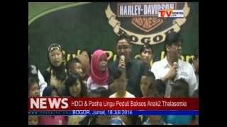 Pasha Ungu dan HDCI Bogor Buka Bareng Anak-anak Penderita Thalasemia