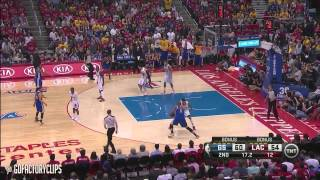getlinkyoutube.com-Stephen Curry Full Highlights at Clippers 2014 Playoffs West R1G7 - 33 Pts, 9 Ast