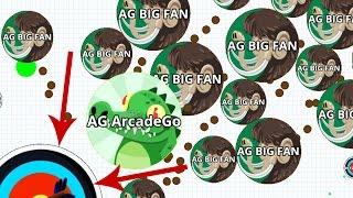 getlinkyoutube.com-Agar.io BIGGEST Team Take Over Agario Best Moments!