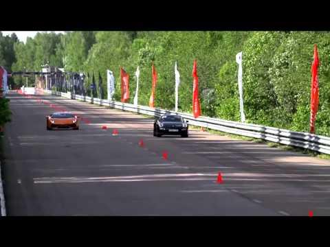 Porsche 991 Turbo S vs Lamborghini Aventador LP700   YouTubevia torchbrowser com