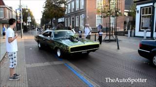 getlinkyoutube.com-Muscle Cars Doing Burnout