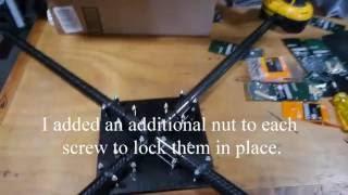 My Homemade Quadcopter Frame