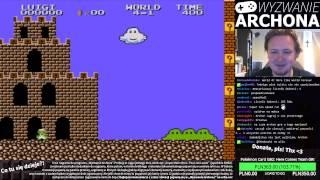 "getlinkyoutube.com-Livestream: ""Wyzwanie Archona"": Super Mario Bros. 2 (JP) - cz. 1"