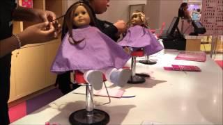 getlinkyoutube.com-American Girl Doll Hair Salon