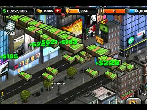 GREE Games - Crime City Android Trailer