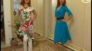 getlinkyoutube.com-Платье-халат за полчаса