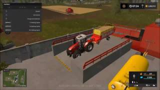 How to us the Compost master in farming simulator 2017