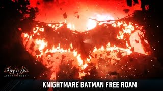 getlinkyoutube.com-MESH; Batman; Arkham Knight; Demon Batman Free Roam