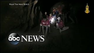 Thailand cave rescue: First photos of rescued boys, dangerous mission detailed width=