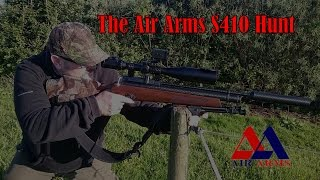 The Air Arms S410 Hunt with Davy & Si HD