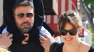 Ben Affleck And Jennifer Garner Dispel Divorce Rumors With Ice Cream Run