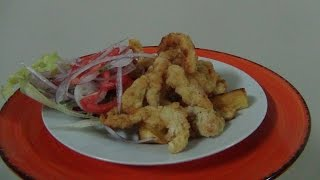 getlinkyoutube.com-Receta de Chicharron de Pota - como preparar Chicharron de Pota