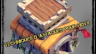 getlinkyoutube.com-Clash Of Clans | Techniques d'attaques pour HDV 8