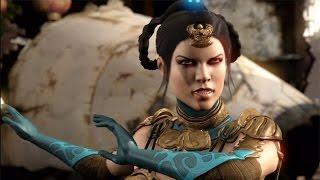 getlinkyoutube.com-Mortal Kombat X - Kitana All Interaction Dialogues