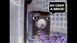 getlinkyoutube.com-Washing Machine is BRICK DANCING