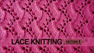 getlinkyoutube.com-Traveling Vine | Lace Knitting Pattern #8