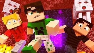 getlinkyoutube.com-Minecraft: O NETHER MAIS DIFÍCIL DE TODOS! (Aprisionados) #4