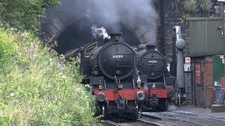getlinkyoutube.com-Grosmont ,NYMR , 3rd August 2014