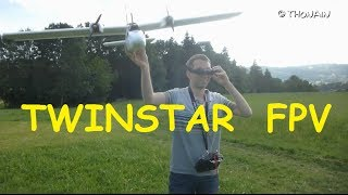 getlinkyoutube.com-TWINSTAR version FPV - MULTIPLEX - AEROMODELISME