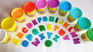 getlinkyoutube.com-ABC Play Doh Alphabet | Animal Sounds | Alphabet Song | Surprise Eggs | Nursery Rhymes