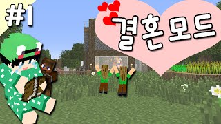 getlinkyoutube.com-[루태] 나랑 결혼해줄래? 결혼 모드 1편 Comes Alive Mod 마인크래프트