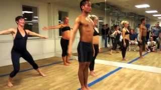 getlinkyoutube.com-Bikram Yoga in Brighton, UK - Bridget Ane Goddard @ Bikram in the Lanes
