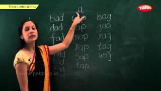 getlinkyoutube.com-Phonics Chapter 3 : Three Letter Words | Learn Phonics For Kids | Phonics Classroom Teaching Lessons