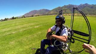 getlinkyoutube.com-Bob's Paramotor Training Journey
