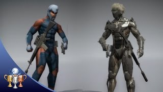 getlinkyoutube.com-Metal Gear Solid V The Phantom Pain - How to Unlock Raiden and Cyborg Ninja Uniform Skins