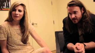 getlinkyoutube.com-Another Earth director Mike Cahill and actress Brit Marling talk with author Elizabeth Licorish