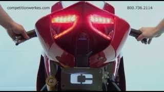 getlinkyoutube.com-Competition Werkes Ducati 1199 Panigale Integrated Taillight