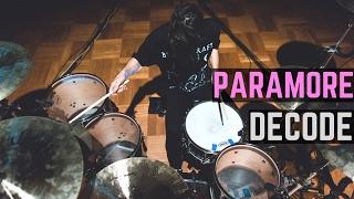 getlinkyoutube.com-Paramore - Decode - Drum Cover