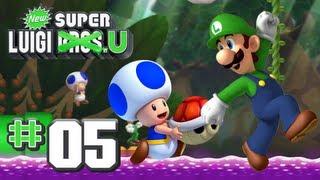 getlinkyoutube.com-New Super Luigi U - World 5 - Soda Jungle 100% (2 Players)