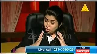 Maya Khan Dancing in Morning Show - Video