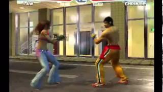 getlinkyoutube.com-Tekken 4 (PlayStation 2) Story Battle as Law