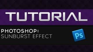 Tutoriale - Photoshop: Efectul Sunburst (Limba Romana) | www.gric.ro
