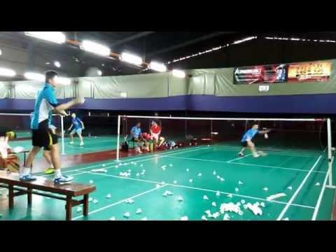 Kawasaki International Badminton Club training 82(24/02/15)