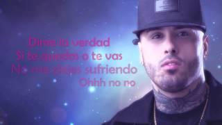 getlinkyoutube.com-MCM Ft. Nicky Jam - Te Quedas O Te Vas (Video Lirycs)