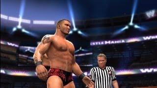 getlinkyoutube.com-WWE 2K14: Wrestlemania 24: Randy Orton Vs. John Cena Vs. Triple H (WWE Championship)
