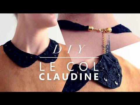 JOUR 18 : COMMENT COUDRE UN COL CLAUDINE - TUTO COUTURE FACILE