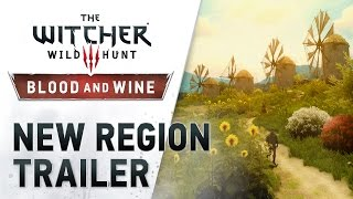 "The Witcher 3: Wild Hunt - Blood and Wine ""Új Terület"" Trailer"