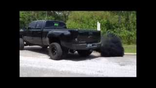 getlinkyoutube.com-JH Diesel's Blacknasty Duramax dually