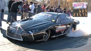 """Zoian"" 6.05 at 235MPH Quickest Import in the USA!"