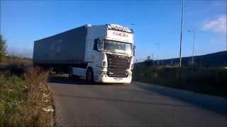getlinkyoutube.com-Scania R500 straight pipe sound by TsaGoil