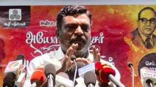 getlinkyoutube.com-Thol. Thirumavalavan Explains Ideology , Caste & Hindutva - Must Watch