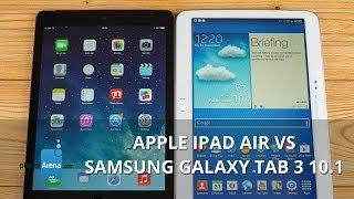 getlinkyoutube.com-Apple iPad Air vs Samsung Galaxy Tab 3 10.1