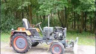 getlinkyoutube.com-eigenbau traktor mit opel corsa motor und schiebeschild